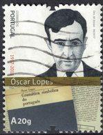 Portugal 2017 Oblitéré Used Óscar Lopes Symboles Grammaticaux De La Langue Portugaise SU - 1910-... République