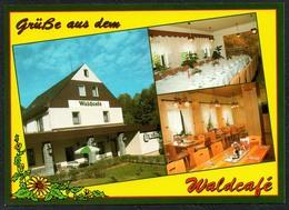 D1892 - TOP Kleinwaltersdorf Waldcafe Gaststätte - Verlag Bild Und Heimat Reichenbach Qualitätskarte - Duitsland