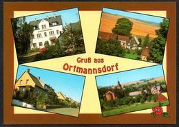 D1893 - TOP Ortmannsdorf - Verlag Bild Und Heimat Reichenbach Qualitätskarte - Duitsland