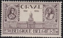 Belgie     .    OBP       .   372  (2 Scans)     .         **      .     Postfris .   /   .   Neuf SANS Charniere - Belgium