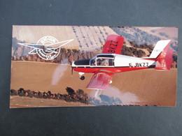 PHOTO AVIATION (V1930) AERO CLUB MANOSQUE VINON (9 VUES) Vue De L'avion Dans Le Ciel - Aviación