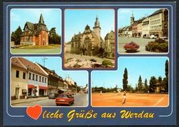 D1895 - TOP Werdau - Verlag Bild Und Heimat Reichenbach Qualitätskarte - Werdau