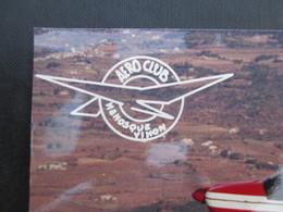 PHOTO AVIATION (V1930) AERO CLUB MANOSQUE VINON (1 VUES) Vue De L'avion Dans Le Ciel A - Aviación