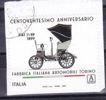 2019 120° FIAT   USATO - 6. 1946-.. Republic