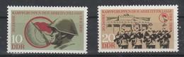 DDR  - Deutsche Demokratische Republik  - 1973 -Ernergiesystem - MiNr.. 1874-75  Siehe Scan - DDR