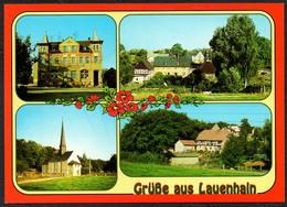 D1898 - TOP Lauenhain  - Verlag Bild Und Heimat Reichenbach Qualitätskarte - Duitsland