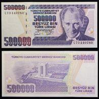TURKEY 500000 1970 {1998} UNC - Turkije