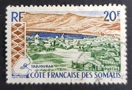 1965 Landscapes, Cote Française Des Somalis, Somali Coast, Somalia, France, *, **, Or Used - Französich-Somaliküste (1894-1967)