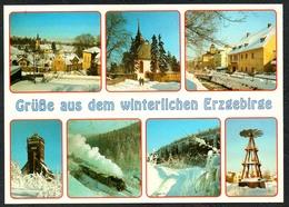 D1901 - TOP Cranzahl Königswalde Crottendorf Erzgebirge Gruß Aus  - Verlag Bild Und Heimat Reichenbach Qualitätskarte - Duitsland