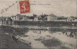 CPA Soissons Le Pont De La Crise Semeuse Camée 10ct Rouge CAD Perlé Mercin-et-Vaux Aisne 9 9 08 - Soissons