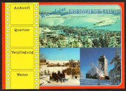 D1905 - TOP Oberwiesenthal - Verlag Bild Und Heimat Reichenbach Qualitätskarte - Oberwiesenthal