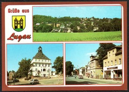 D1907 - TOP Lugau - Verlag Bild Und Heimat Reichenbach Qualitätskarte - Duitsland