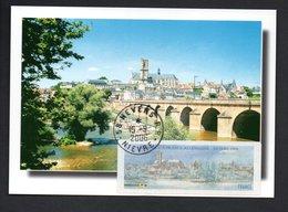 CARTE MAXIMUM -- NEVERS   2006- LISA 0,55  FRANCE  ALLEMAGNE - Maximum Cards