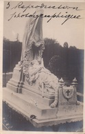 Carte Photo Fotokaart Etterbeek ? Tombe PRO PATRIA 1914 1915 (fotograaf : ?? Reproduction Photographique) - Etterbeek