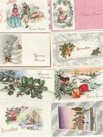 Lot De Cartes -  Bonne Année Meilleurs Voeux - Petit Format - écrites - Nouvel An