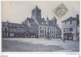14. Calvados : Saint Pierre Sur Dives . La Place De L ' Hotel De Ville . - Other Municipalities