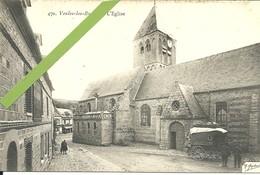 - 76  -  VEULES-les-ROSES - L'église - Francia
