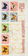 Lesotho, Butterflies, Official First Day Cover , MASERU 3 IX 73 - Lesotho (1966-...)