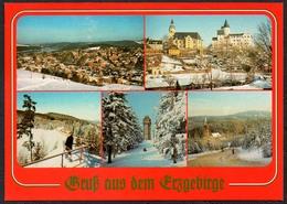 D0152 - TOP Eibenstock Schwarzenberg Johanngeorgenstadt - Verlag Bild Und Heimat Reichenbach Qualitätskarte - Duitsland