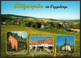 D1916 - TOP Stützengrün - Verlag Bild Und Heimat Reichenbach Qualitätskarte - Duitsland