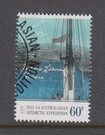 Australian Antarctic Territory ASC 190  2011 Antarctic Expedition Departure And Journey,60c  Leaving Hobart,used, - Used Stamps