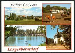 D1917 - TOP Langenbernsdorf - Verlag Bild Und Heimat Reichenbach Qualitätskarte - Duitsland