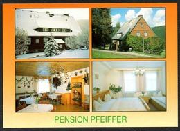 D1919 - TOP Rittersgrün Pension Pfeiffer - Verlag Bild Und Heimat Reichenbach Qualitätskarte - Duitsland