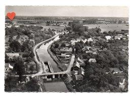 03694-LE-02-EN AVION AU-DESUS DE ...ETREUX-Vue Panoramique Sur Le Canal - Altri Comuni