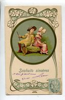 Illustrateur  Enfants Embossed Postcard - Illustratori & Fotografie
