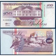 BILLET SURINAM 100 GULDEN - Surinam