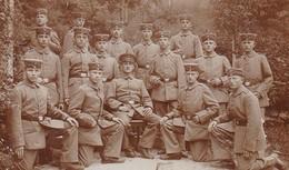 AK Foto Gruppe Deutsche Soldaten - 3. Corp. III. Comp. - Feldpost Meiningen 1916  (46304) - Guerra 1914-18