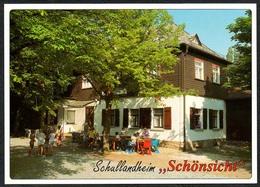 D1928 - TOP Netzschkau Schullandheim Schönsicht - Verlag Bild Und Heimat Reichenbach Qualitätskarte - Duitsland