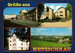D1930 - TOP Netzschkau - Verlag Bild Und Heimat Reichenbach Qualitätskarte - Zonder Classificatie