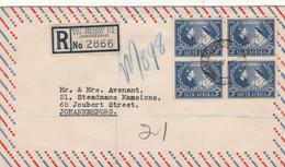 South Africa, 1948 Silver Wedding, WEST PRESIDENT STREET JOHANNESBURG 26 IV 48 C.d.s. - South Africa (...-1961)