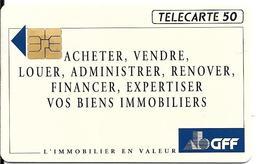 CARTE-PUCE-PRIVEE-PUBLIC-5OU-EN557-SO3-12/92-G.F.F-Utilisé-TBE-LUXE-RARE - Francia
