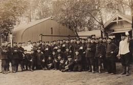 AK Foto Gruppe Deutsche Soldaten Im Lockstedter Lager - Photo Vahlendick - 1912 (46308) - Guerre 1914-18