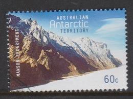 Australian Antarctic Territory ASC 205 2013 Antarctic Mountains,60c Mawson's Escarpment,used - Used Stamps