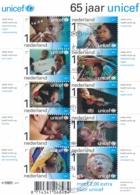 Nederland - 2011 - Blok 65 Jaar Unicef - NVPH V2823-2832 - Gebruikt - Gebraucht
