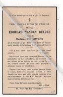 EDOUARD VANDEN BULCKE ° HASSELT 1911 + KORTENBERG 1941 / MIA VRYENS - Images Religieuses