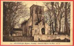 33 - B26651CPA -  ARTIGUES - Entree Eglise Et La Place - Très Bon état - GIRONDE - Andere Gemeenten