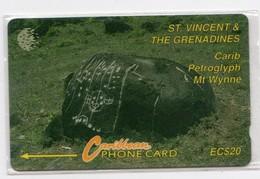 SAINT VINCENT ET GRENADINES REF MV CARDS STV 10B Année 1995 10CSVB - San Vicente Y Las Granadinas
