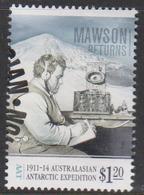 Australian Antarctic Territory ASC 211 2013 Expedition Part III 60c Mawson Returns,used, - Australian Antarctic Territory (AAT)