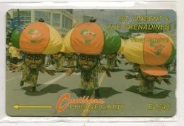 SAINT VINCENT ET GRENADINES REF MV CARDS STV 8D Année 1994 8CSVD - San Vicente Y Las Granadinas