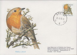 Lote 271FDC - Erithacus Rubecula - 1985-.. Birds (Buzin)