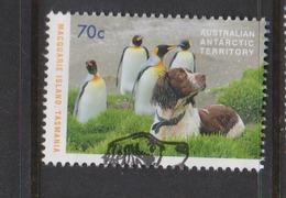 Australian Antarctic Territory ASC 226 2015 Dog Saved Macquarie Island 70c Dog And Penguins,used - Australian Antarctic Territory (AAT)