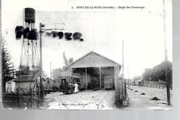 33 PONT DE LA MAYE DEPOT DES TRAMWAYS - Autres Communes