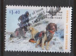 Australian Antarctic Territory ASC 229 2015 Dog Saved Macquarie Island ,$ 1.40 Dogs,used, - Australian Antarctic Territory (AAT)