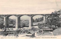Lausanne Le Pont De Montbenon - Chauderon - VD Vaud