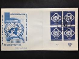 United Nations (Geneva), Uncirculated FDC, 1970 - Office De Genève