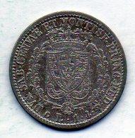ITALΙAN STATES - SARDEGNA, 1 Lira, Silver, Year 1828, KM #103.2 - Andere